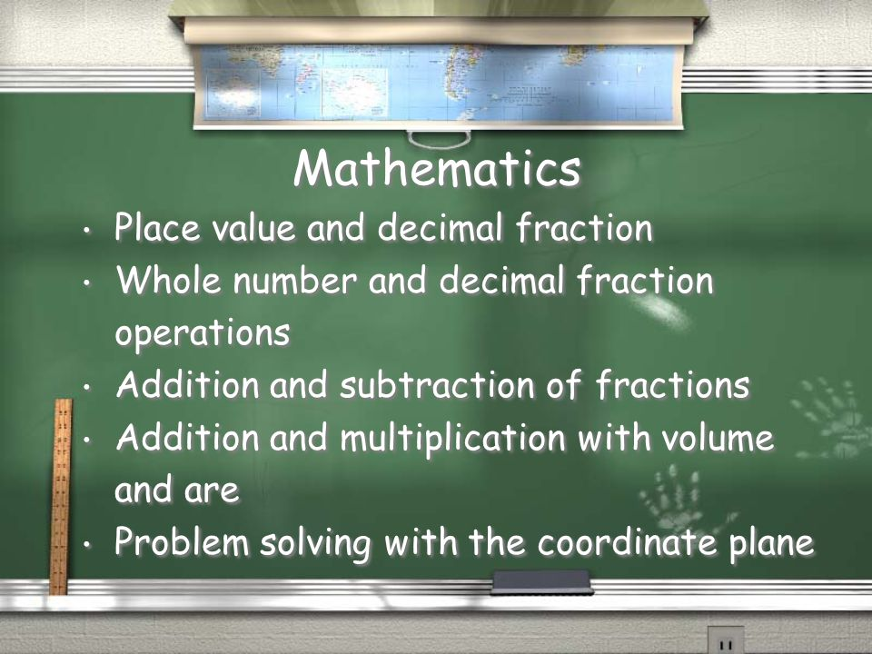 Mathematics Place value and decimal fraction