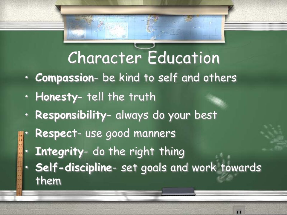 Character Education Compassion- be kind to self and others