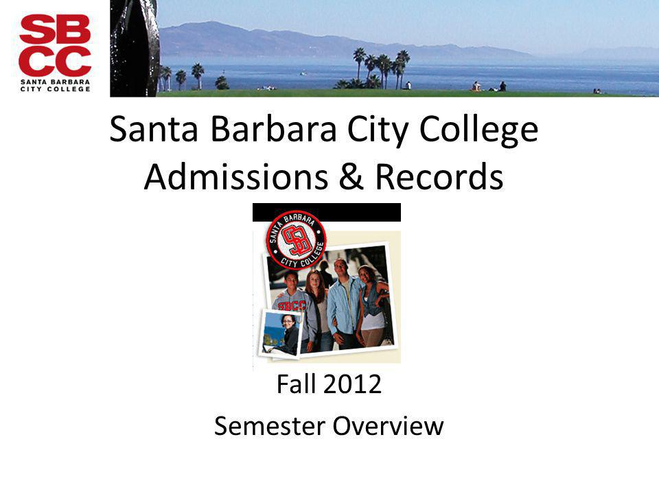 Santa Barbara City College Admissions & Records
