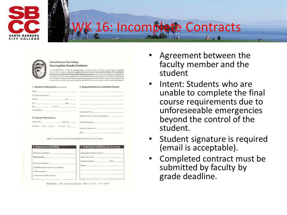 WK 16: Incomplete Contracts