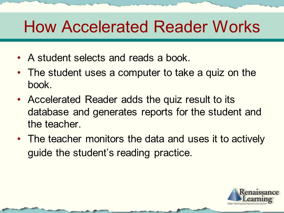 How Accelerated Reader Works