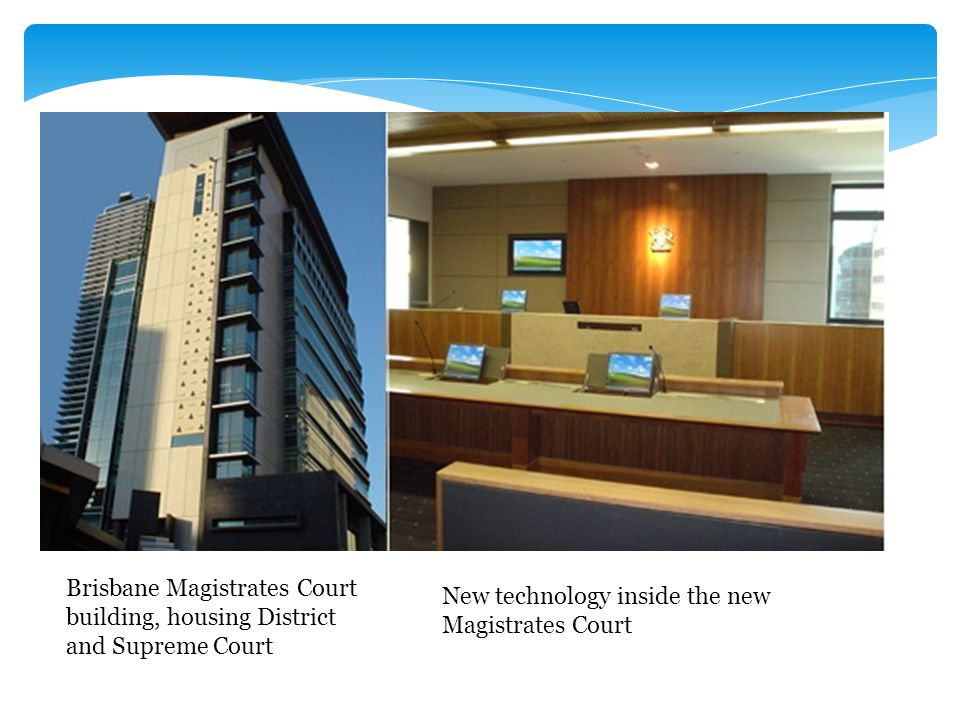 Brisbane Magistrates Court building, housing District and Supreme Court