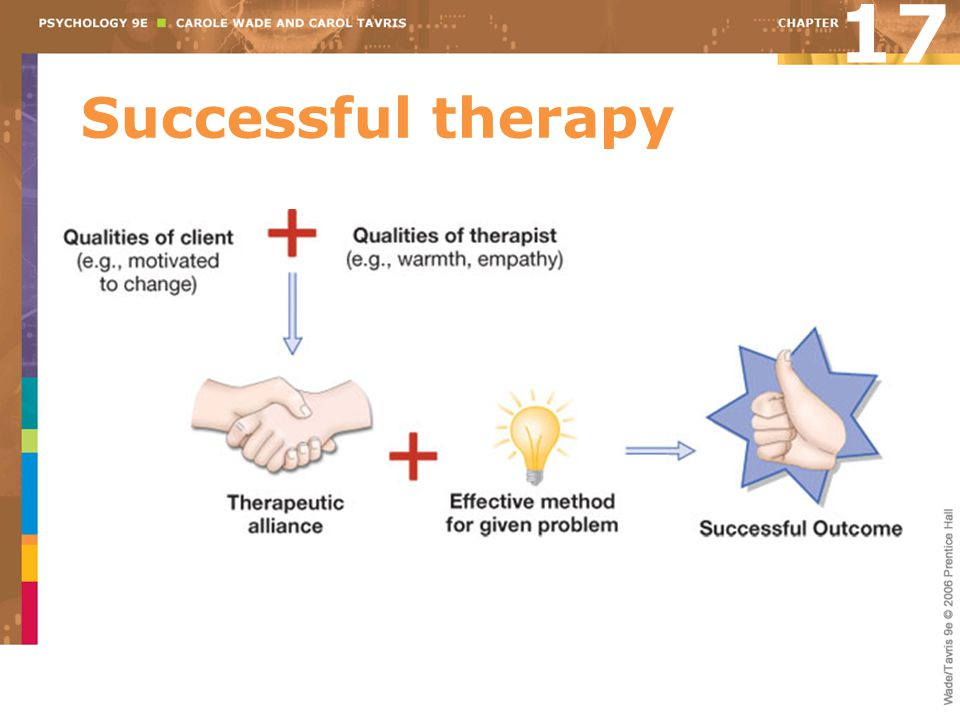 17 Successful therapy