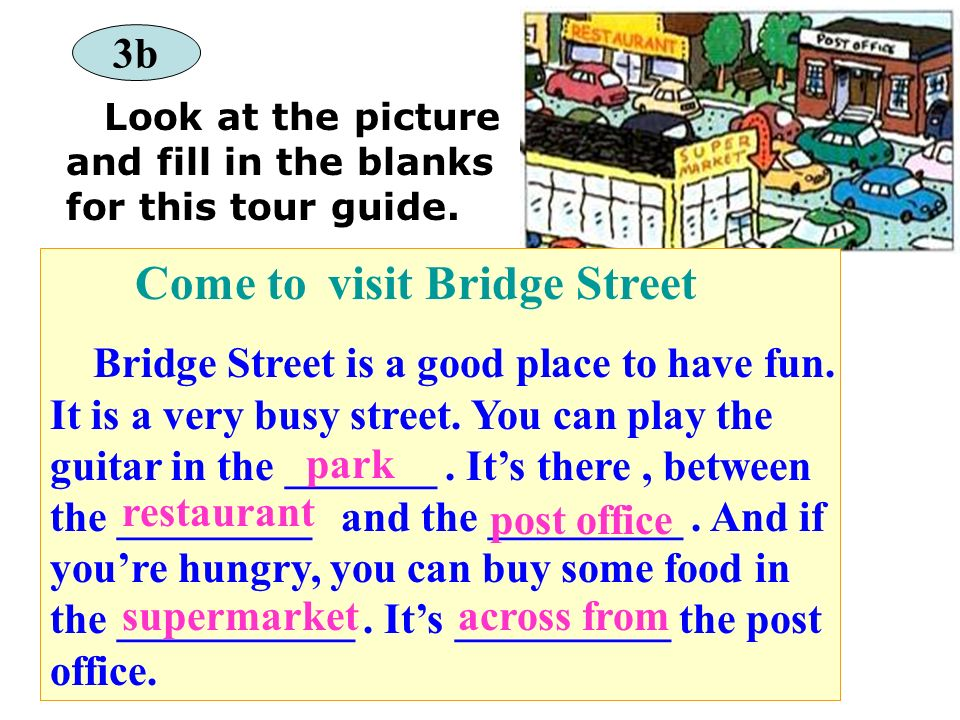 Come to visit Bridge Street