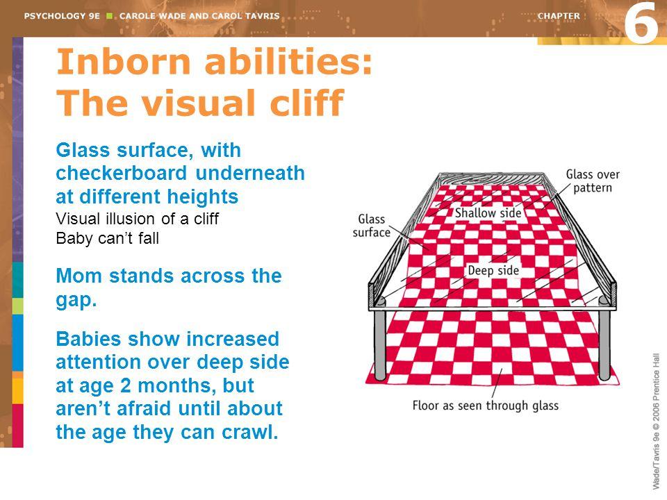 Inborn abilities: The visual cliff