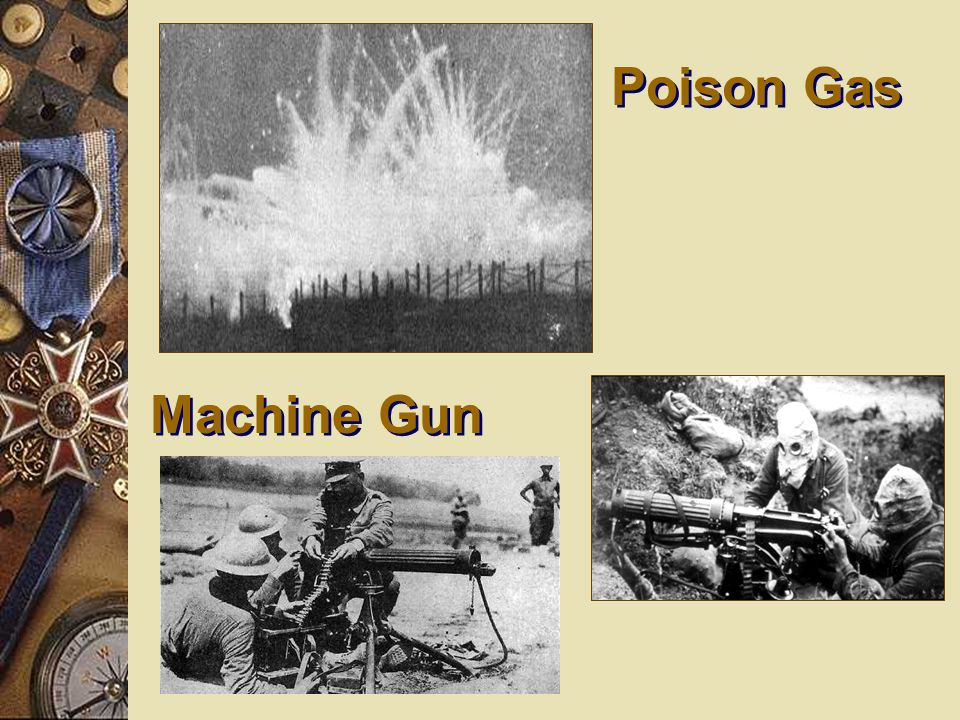 Poison Gas Machine Gun