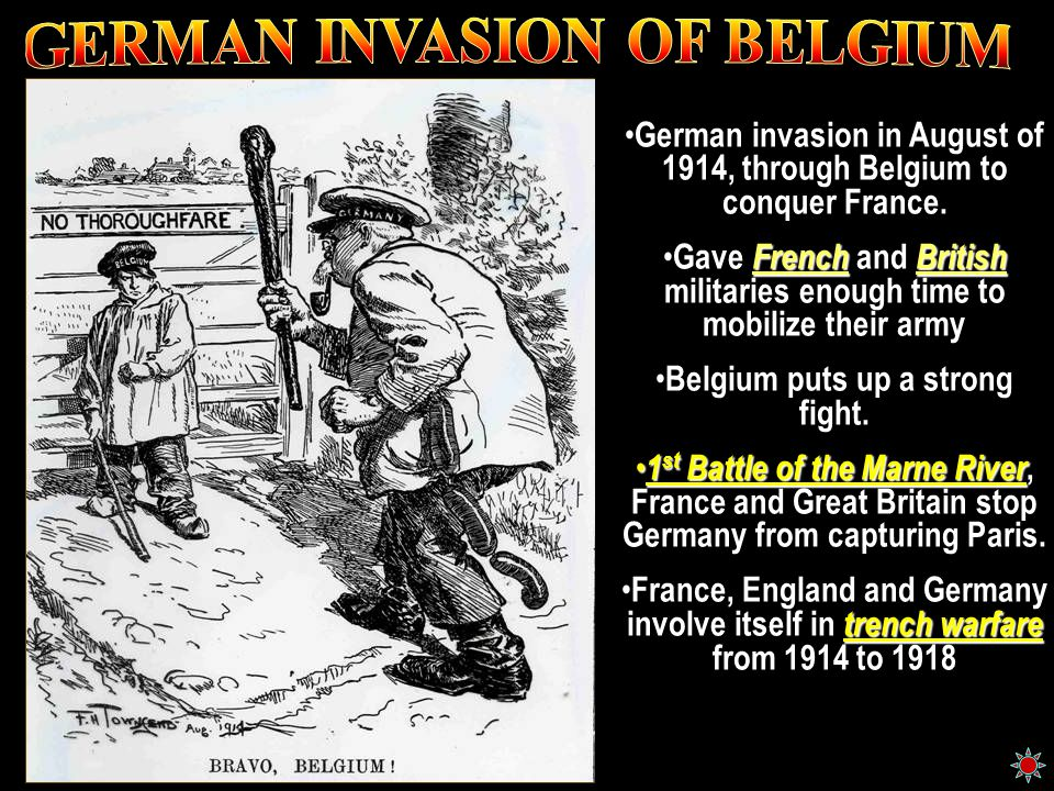GERMAN INVASION OF BELGIUM