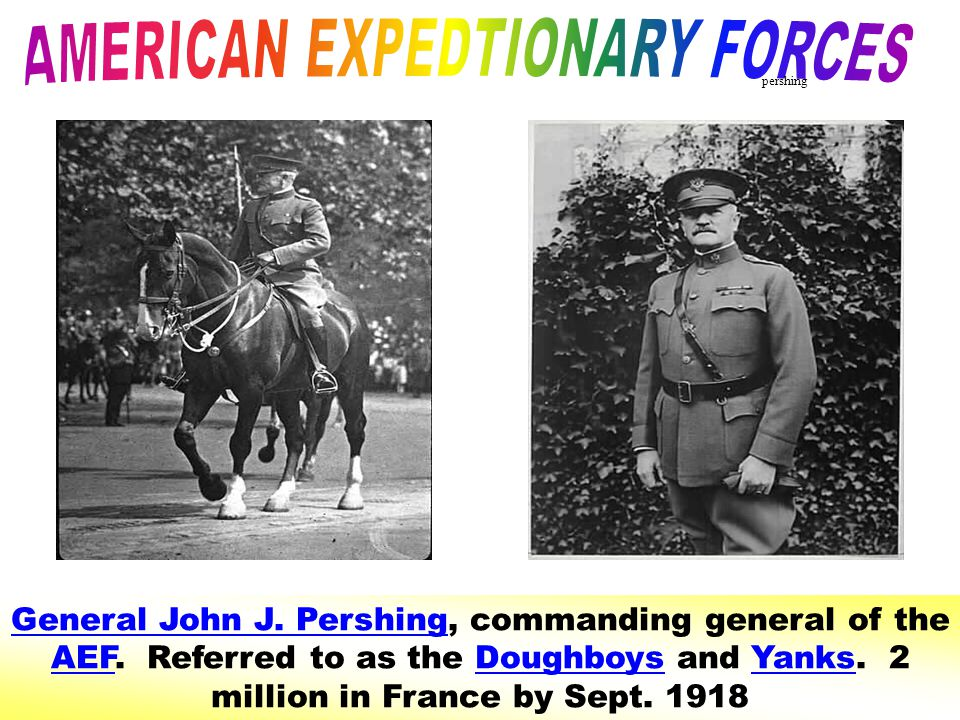 AMERICAN EXPEDTIONARY FORCES