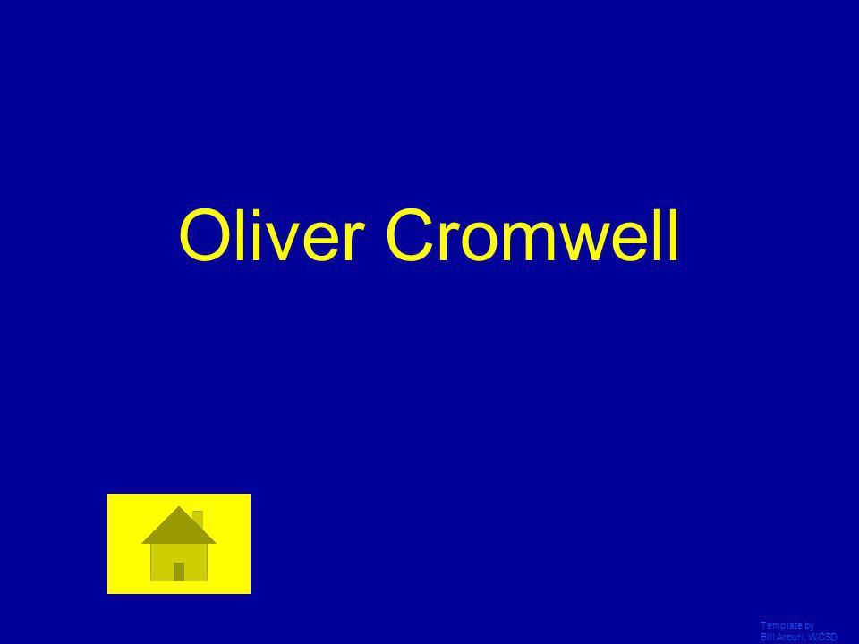 Oliver Cromwell Template by Bill Arcuri, WCSD