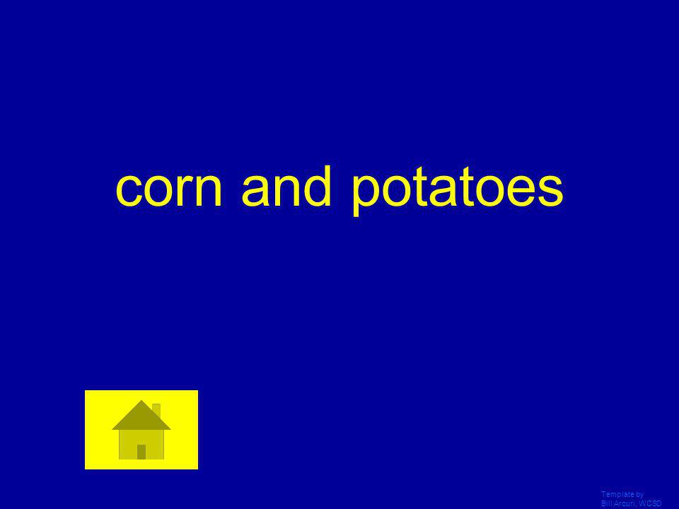 corn and potatoes Template by Bill Arcuri, WCSD
