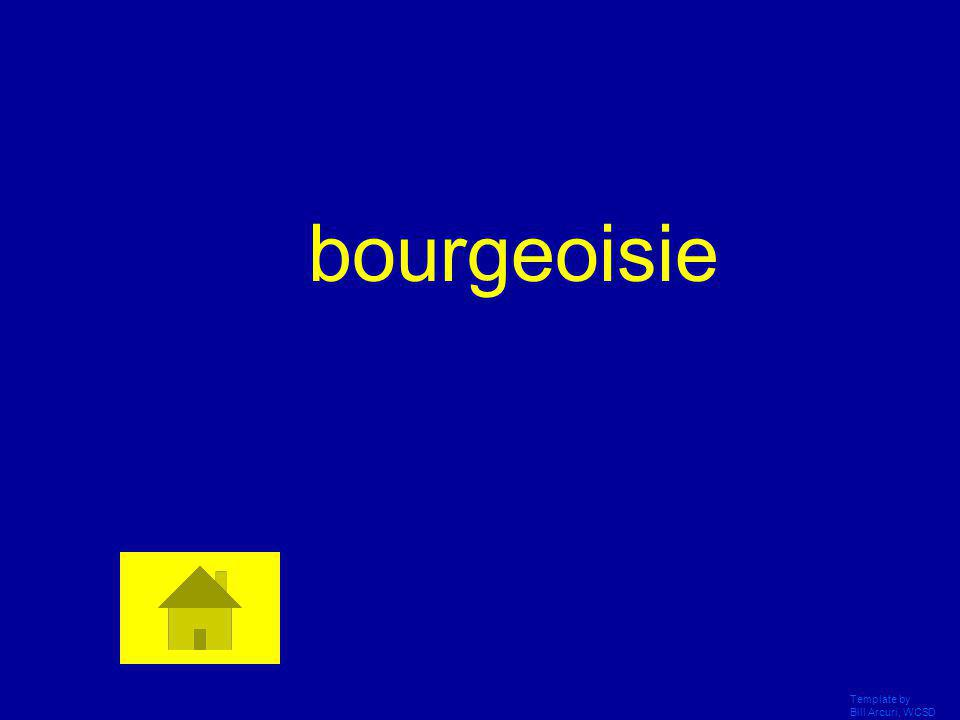 bourgeoisie Template by Bill Arcuri, WCSD