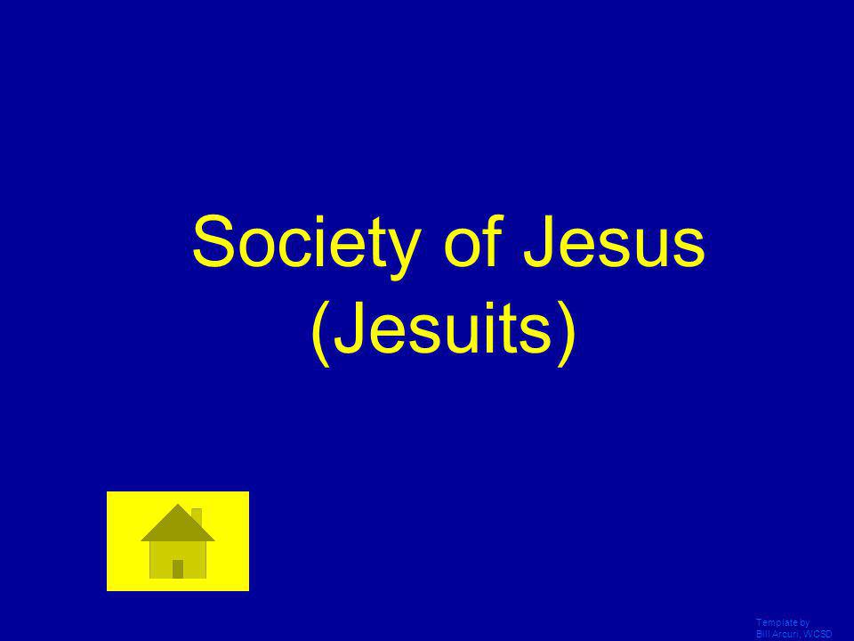 Society of Jesus (Jesuits)