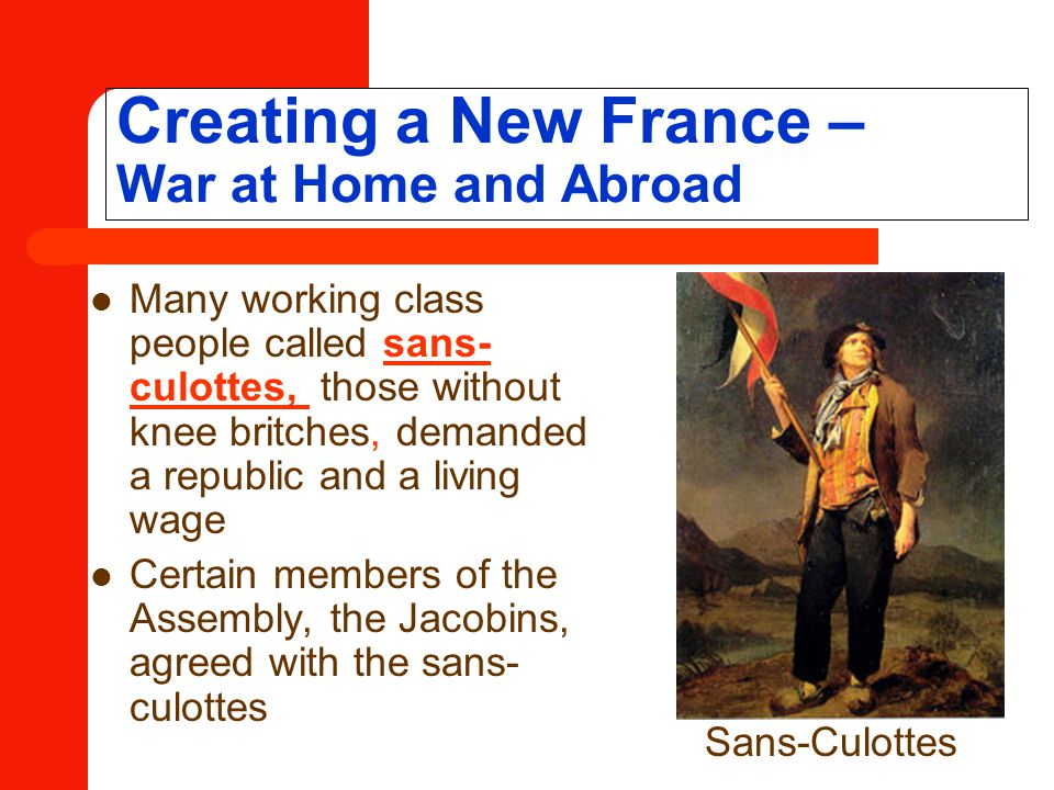 Creating a New France – War at Home and Abroad