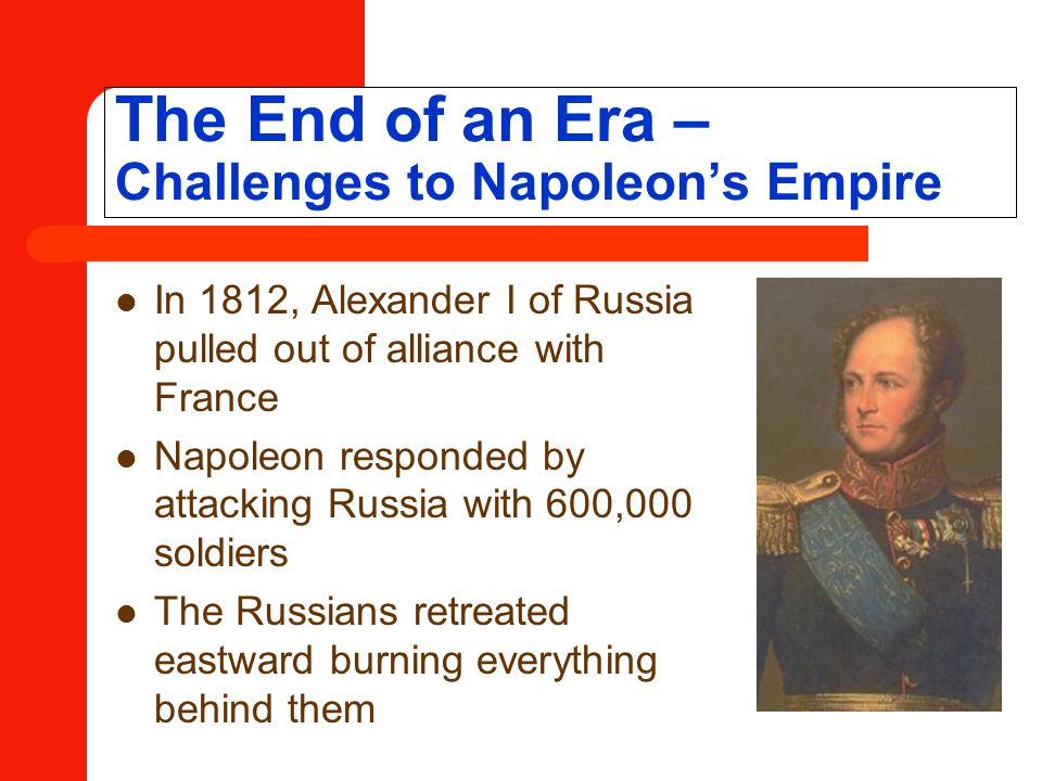The End of an Era – Challenges to Napoleon's Empire