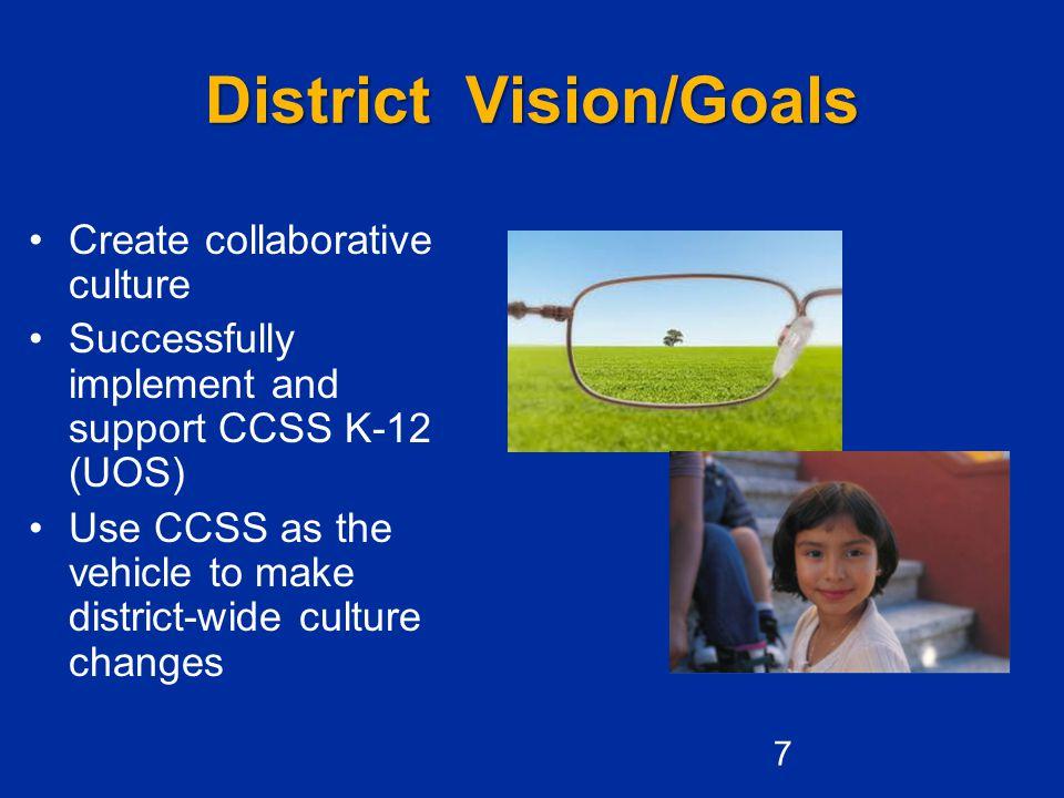District Vision/Goals