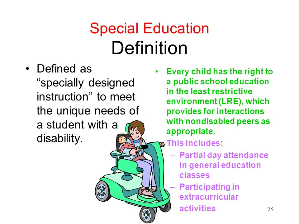 Special Education Definition