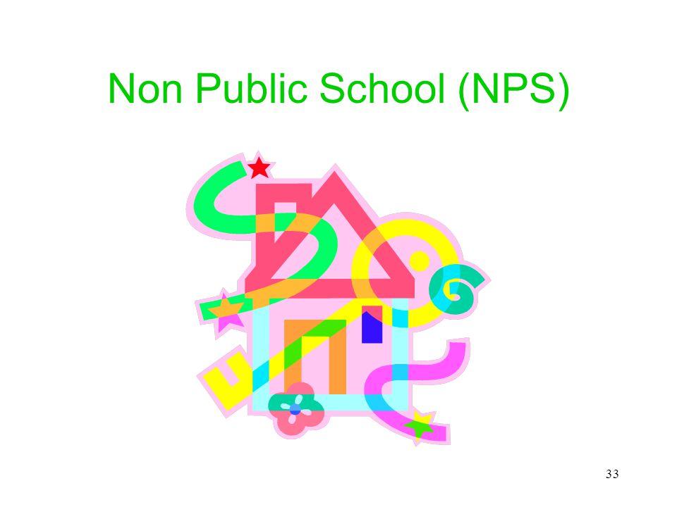 Non Public School (NPS)