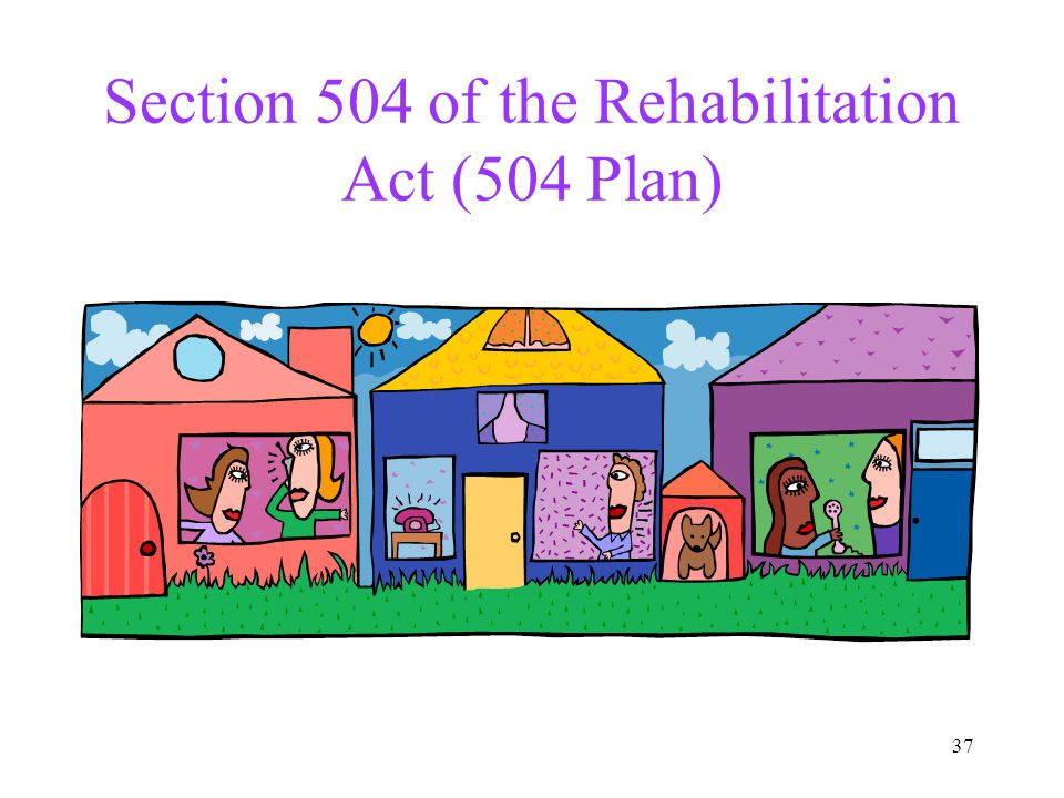 Section 504 of the Rehabilitation Act (504 Plan)
