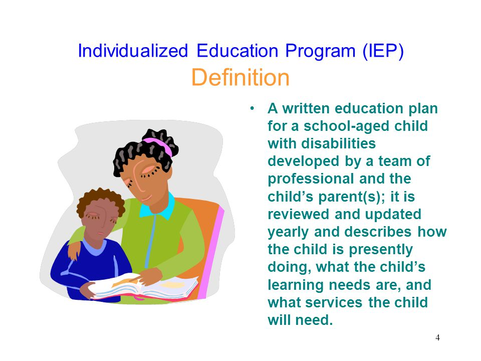 Individualized Education Program (IEP) Definition