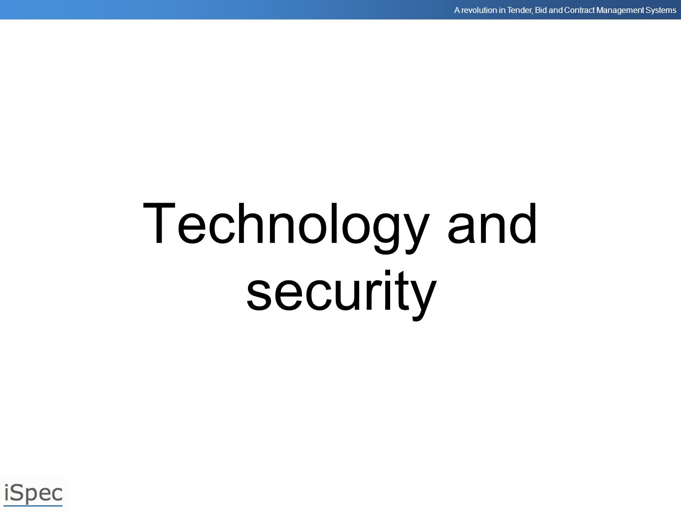 Technology and security