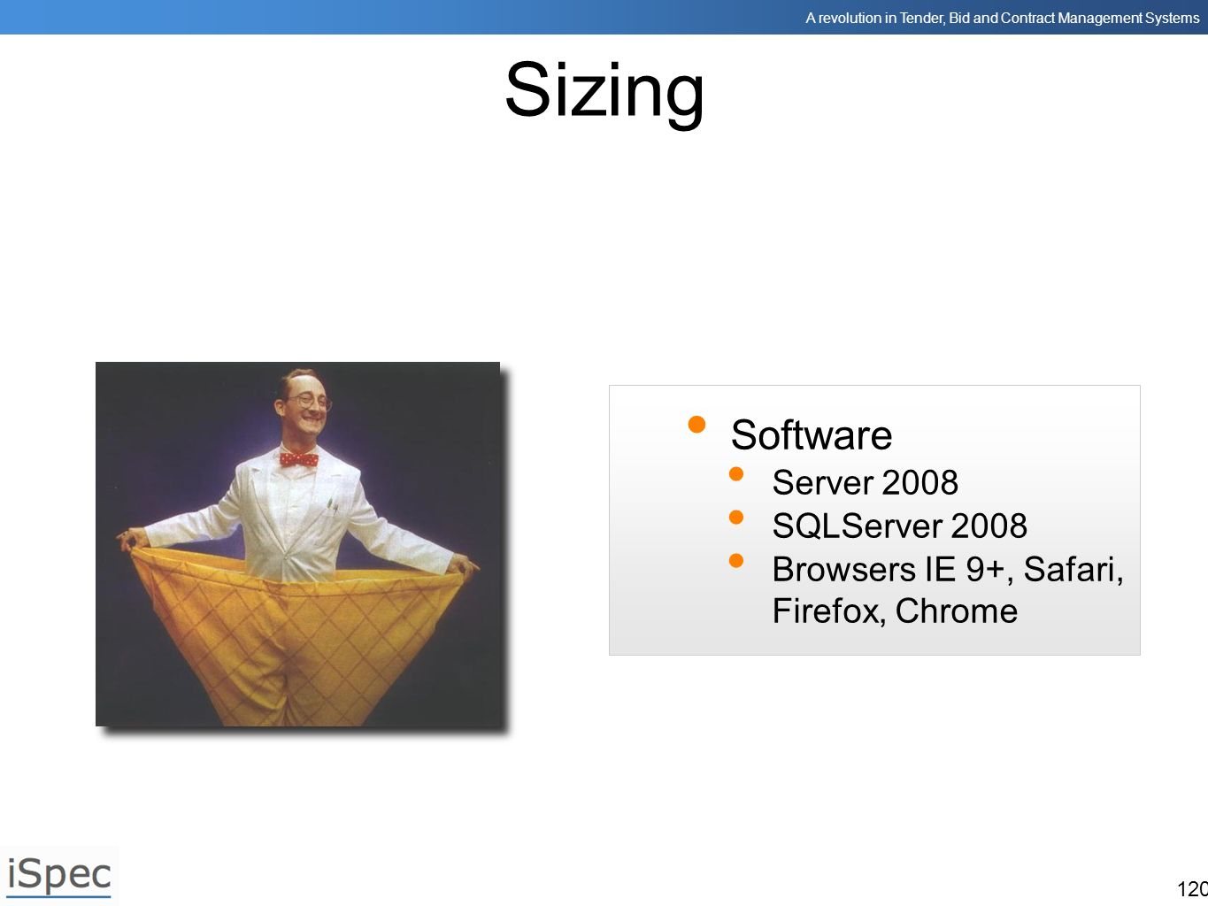 Sizing Software Server 2008 SQLServer 2008