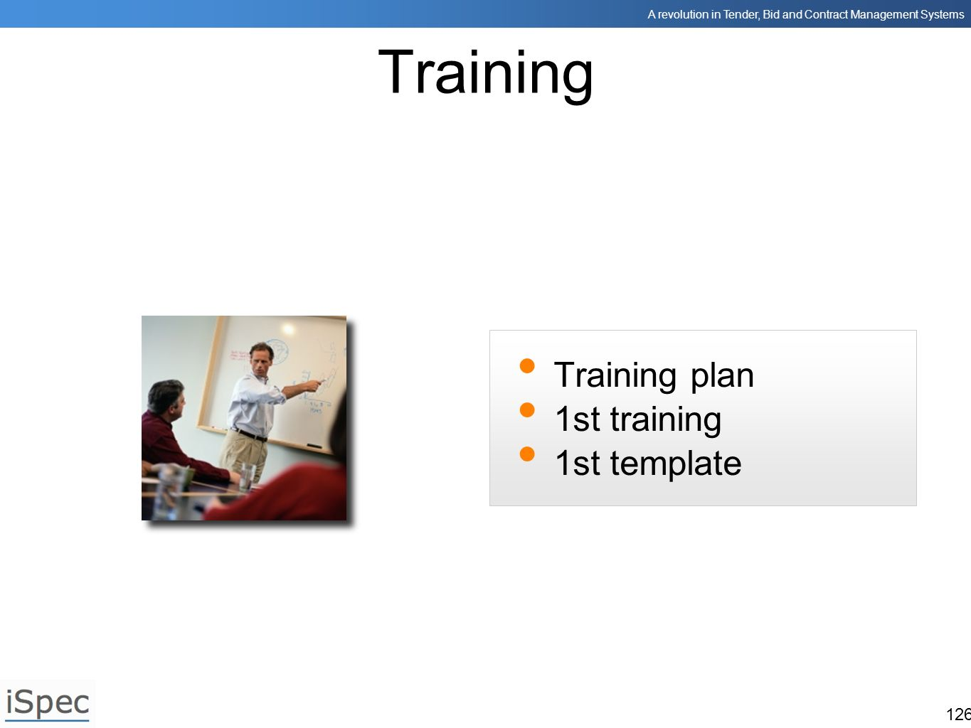 Training Training plan 1st training 1st template