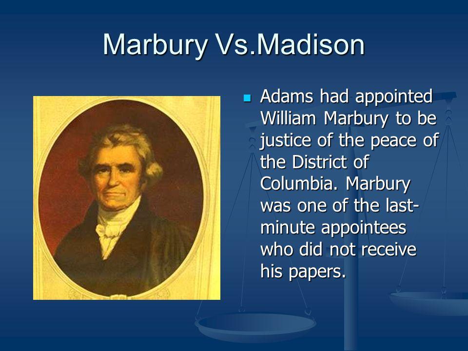 Marbury Vs.Madison