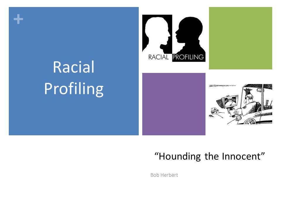 the problem of racial profiling essay
