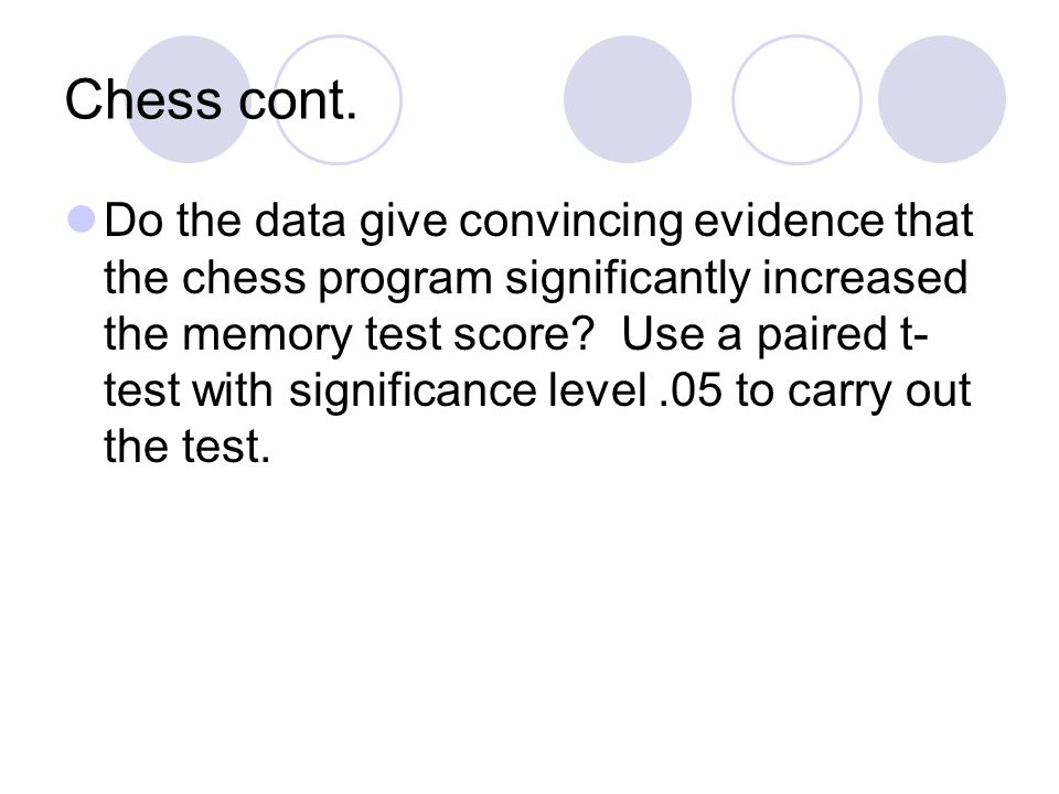 Chess cont.