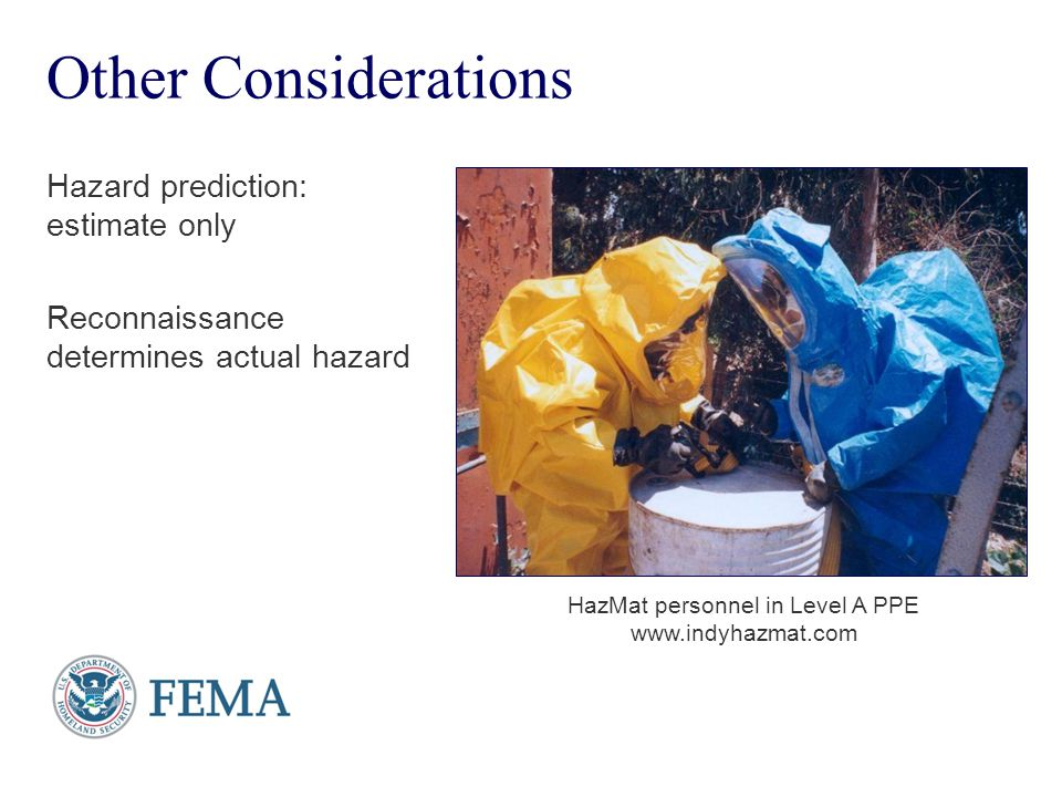 HazMat personnel in Level A PPE