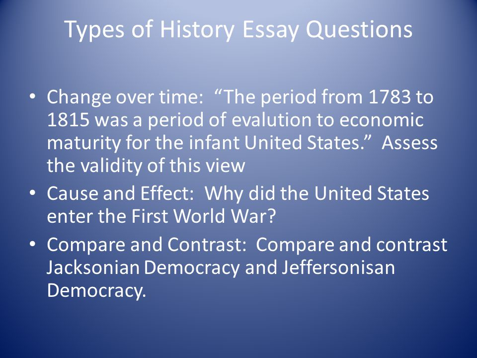 Jacksonian Democracy Essay Sample