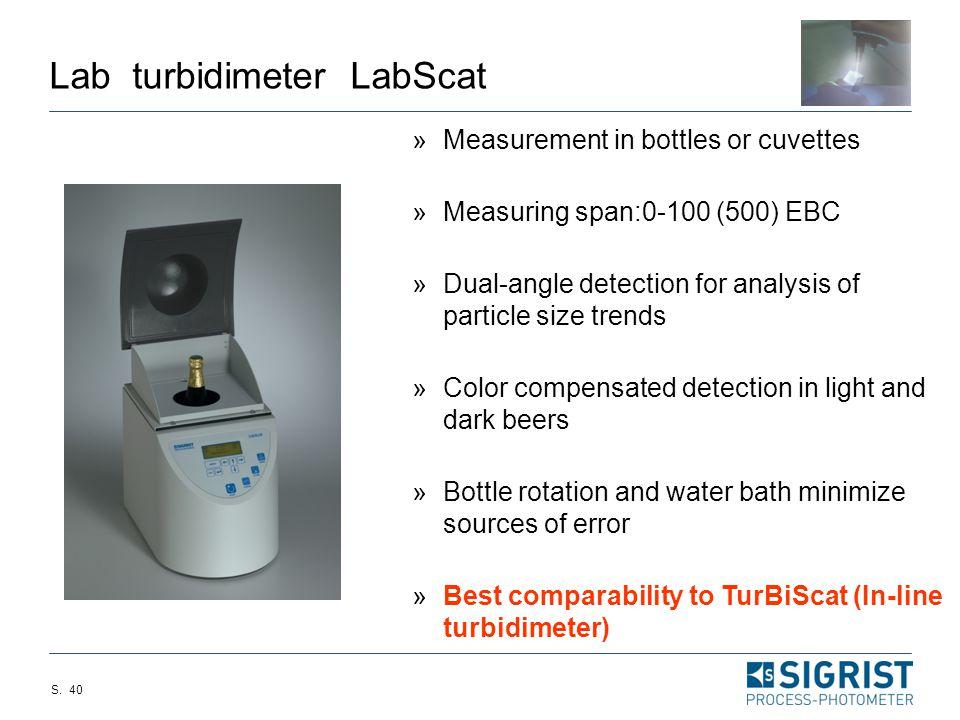 Lab turbidimeter LabScat