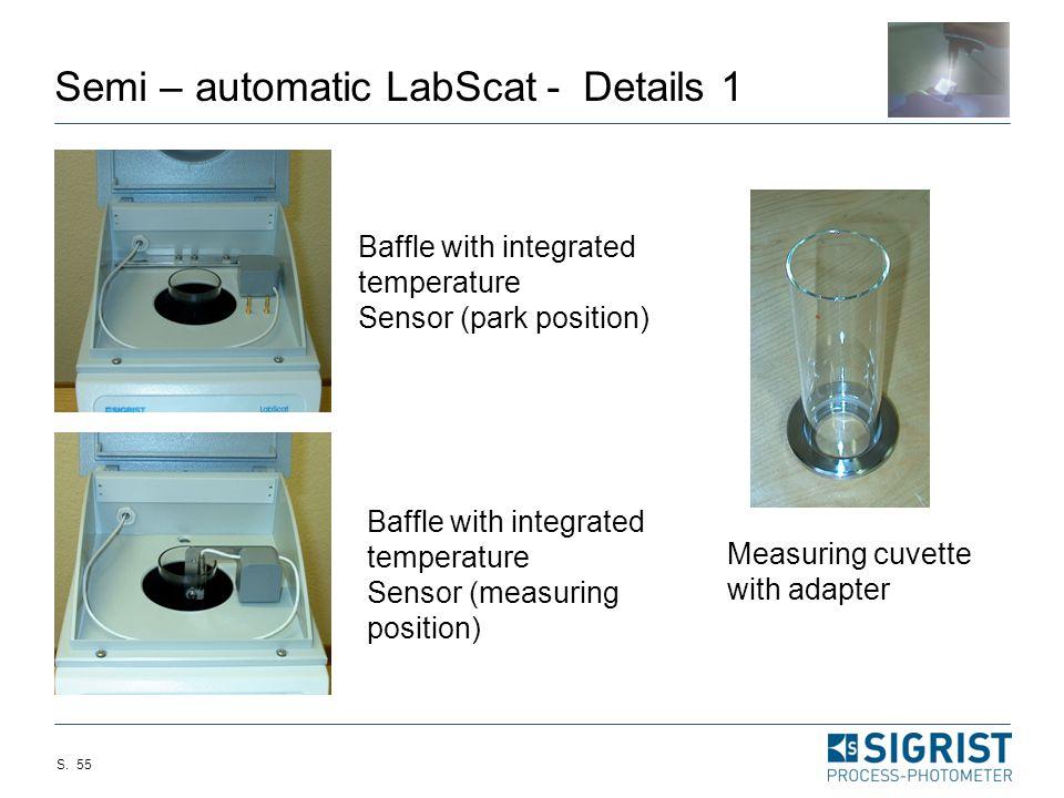 Semi – automatic LabScat - Details 1