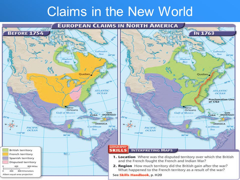 Claims in the New World