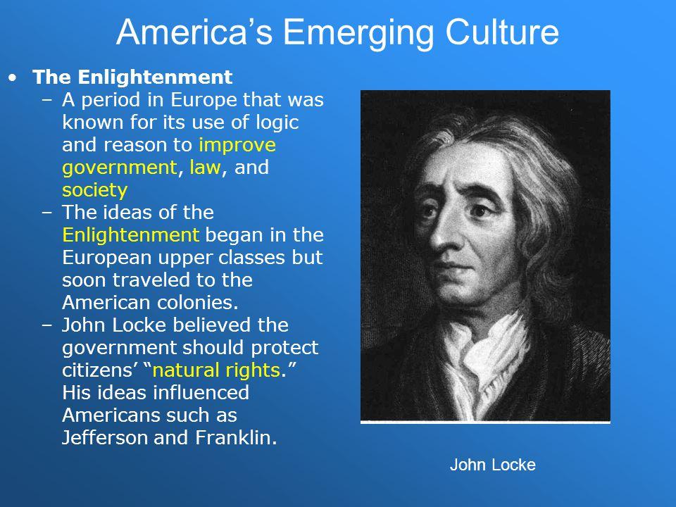 America's Emerging Culture