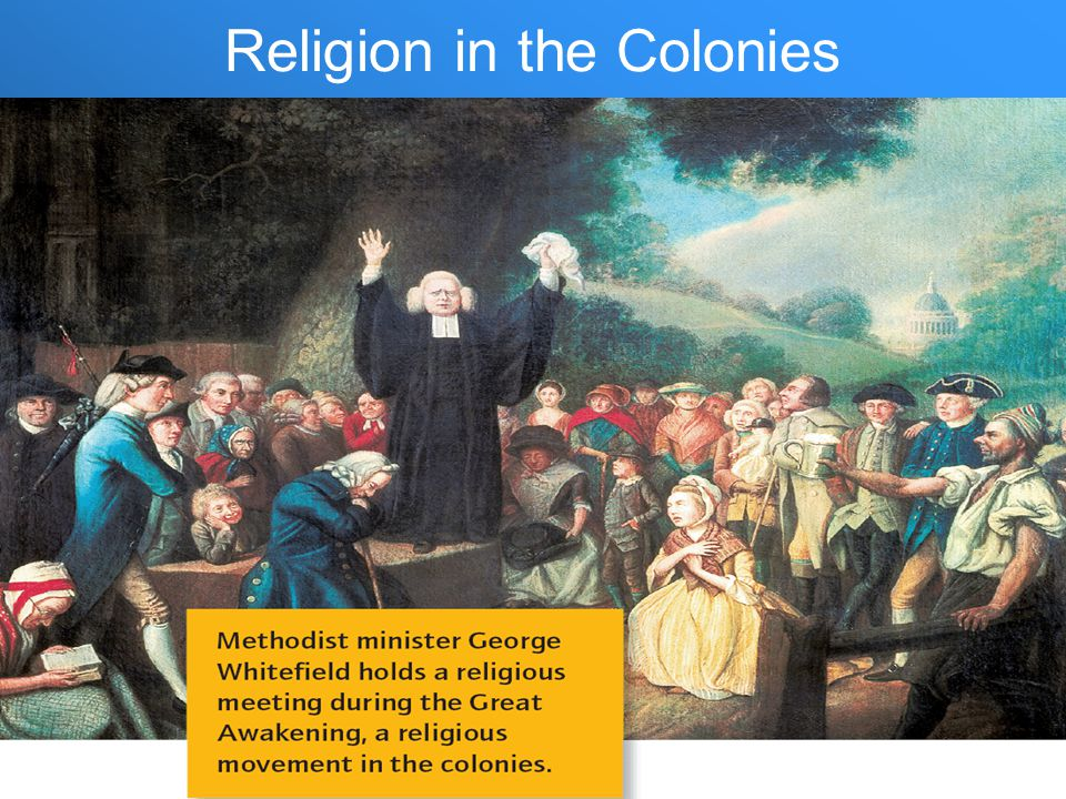 Religion in the Colonies