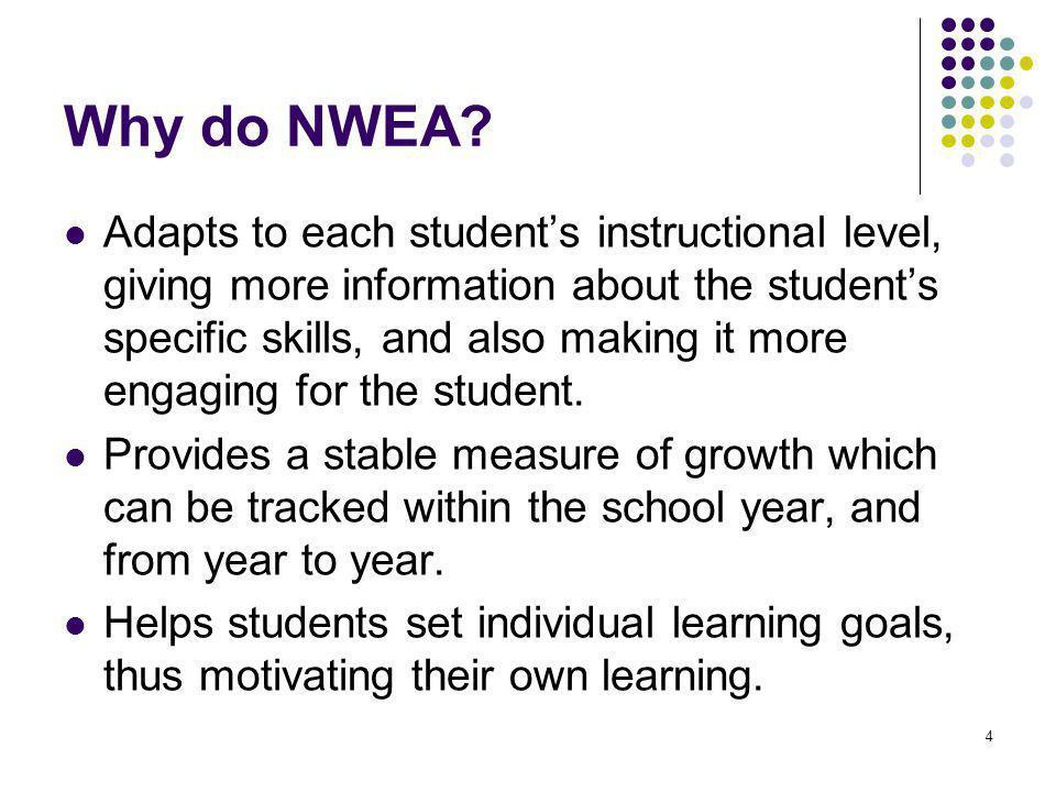 Why do NWEA