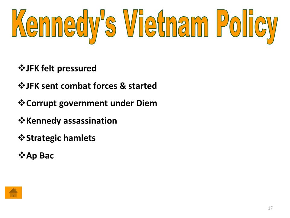 Kennedy s Vietnam Policy