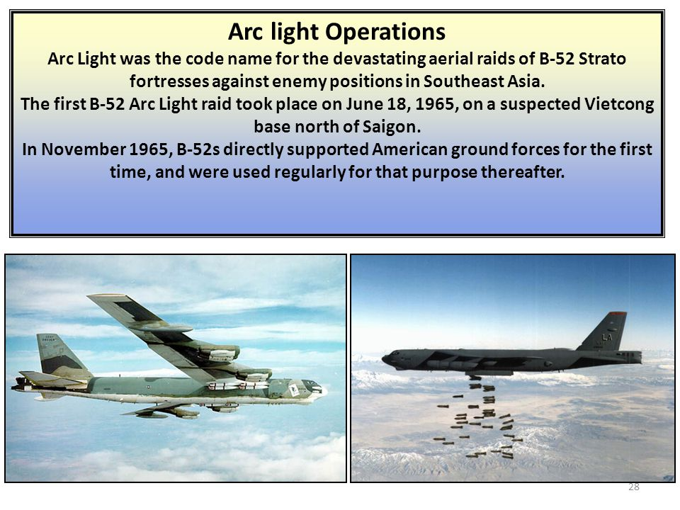 Arc light Operations
