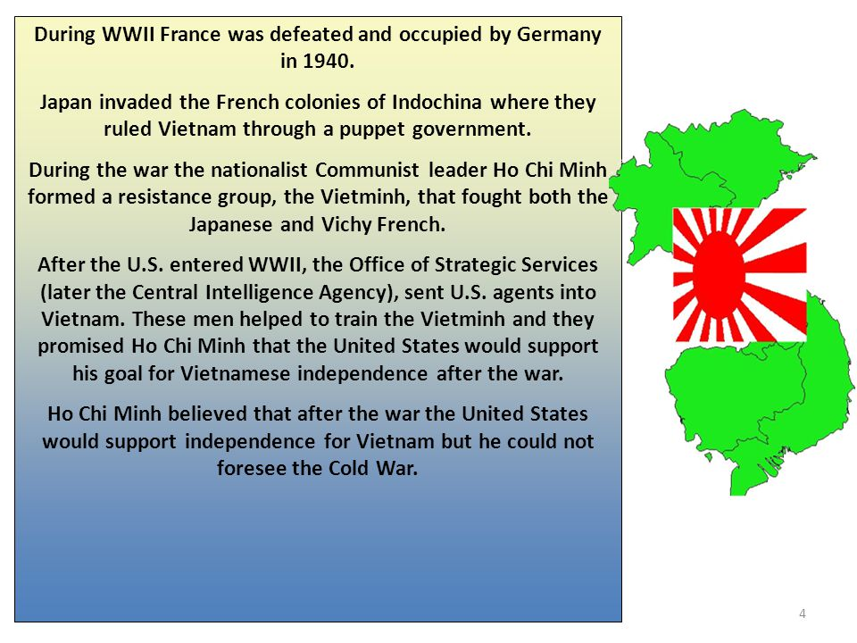 During WWII France was defeated and occupied by Germany in 1940.