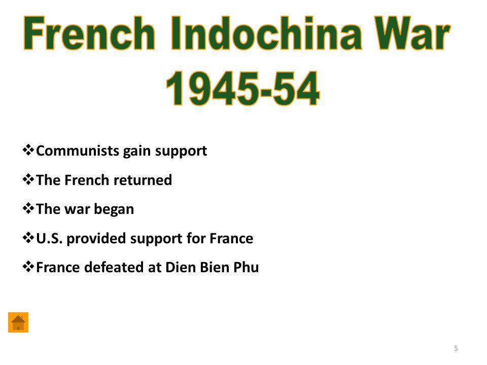 French Indochina War 1945-54 Communists gain support