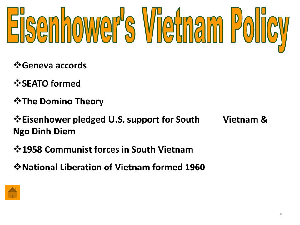 Eisenhower s Vietnam Policy