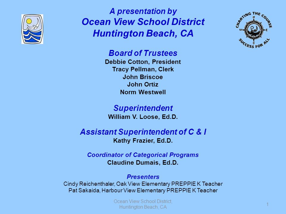 Ocean View School District Huntington Beach, CA