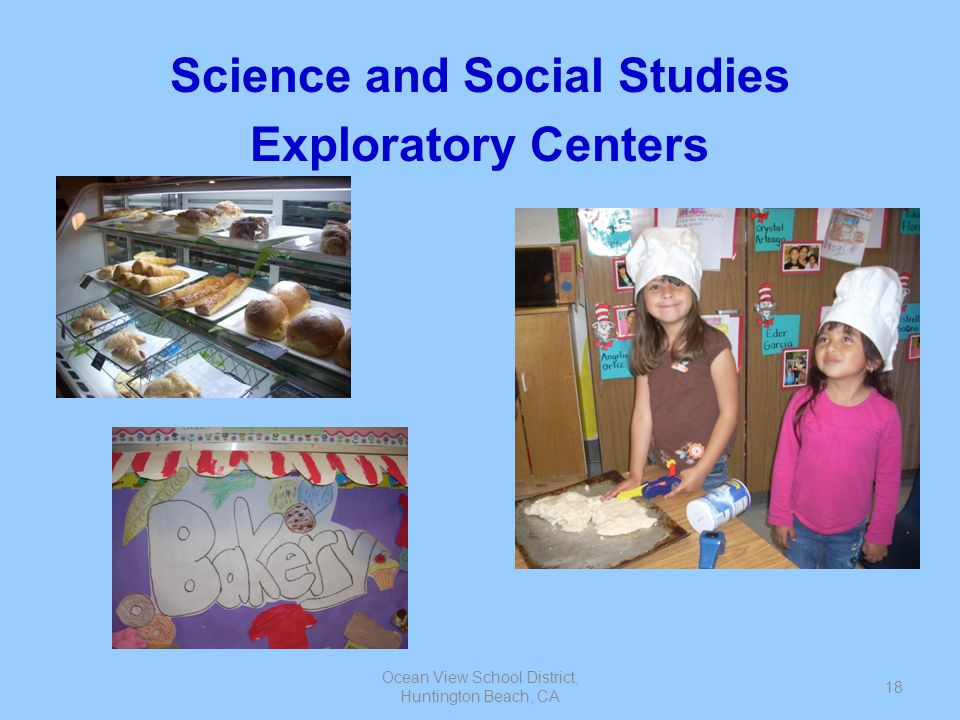 Science and Social Studies Exploratory Centers