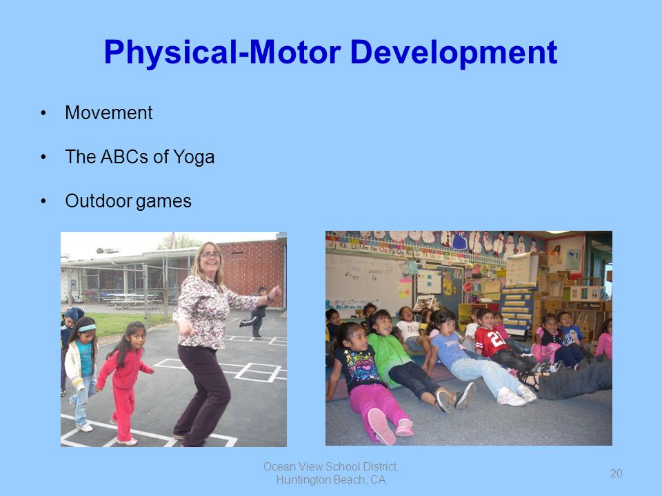 Physical-Motor Development