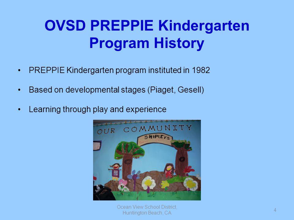 OVSD PREPPIE Kindergarten