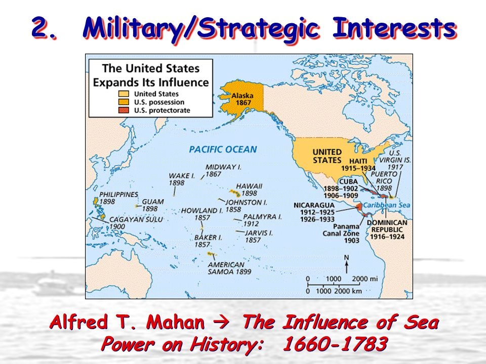 2. Military/Strategic Interests