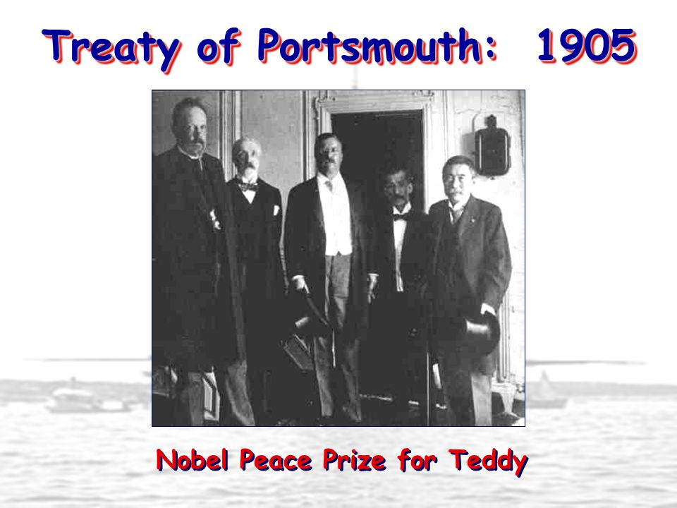 Nobel Peace Prize for Teddy