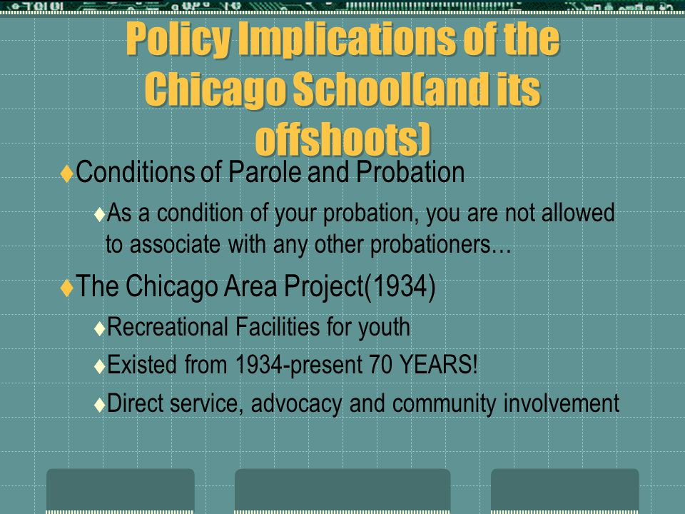 Policy Implications of the Chicago School(and its offshoots)