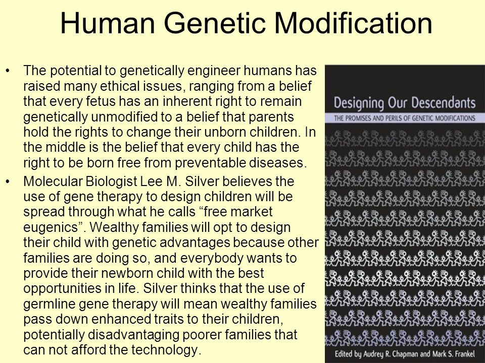 Human Genetic Modification